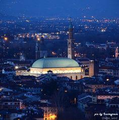 Nel centro storico di Vicenza, la Basilica palladiana