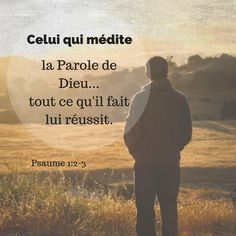 Am not sure that you meditate much on the word of God :) , Christian Life, Christian Quotes, Bible Scriptures, Bible Quotes, Little Prayer, Catholic Quotes, French Quotes, God Loves Me, God First