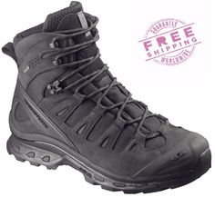 Tactical Footwear 177897: Salomon Quest 4D Gtx Forces Gore-Tex Military Tactical Boots Black -> BUY IT NOW ONLY: $229 on eBay!