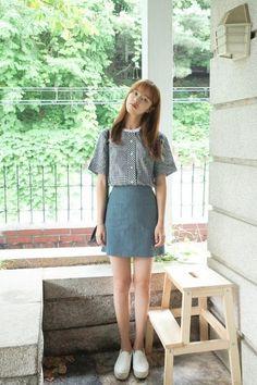 Two Times Blouse | Korean Fashion