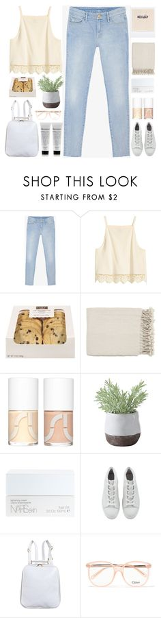 """Everything that you've ever dreamed of Disappearing when you wake up"" by noe-poterala ❤ liked on Polyvore featuring Mother, Surya, Uslu Airlines, Torre & Tagus, NARS Cosmetics and Chloé"