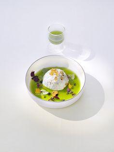 La raviole de langoustine. La Vie. Restaurant d'un Grand Chef Relais  Châteaux en ville. Allemagne,Osnabrück  #Expo2015#Milan #WorldsFair