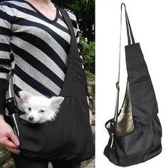 Pet Carrier Dog Cat Single Shoulder Strap Bag Sling Tote Puppy Pouch  Backpack 96b2d2b6e