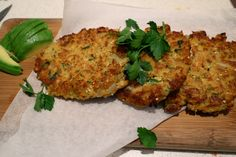Julia and Libby   Red Lentil Patties. Cooked red lentils, onions, garlic, eggs, bread crumbs, carrot, turmeric, cumin seeds, fresh parsley, fresh coriander, lime juice.