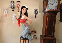 Pin Up Model Gina Elise!