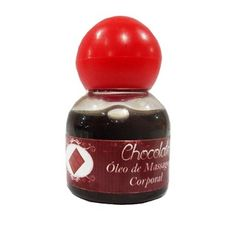 Oleo de massagem corporal chocolate 15 ml podsex