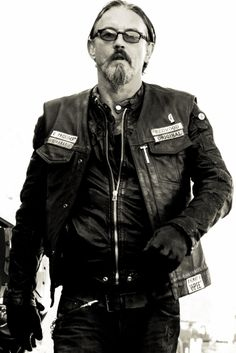 Tommy Flanagan as Chibs in Sons of Anarchy. Looked to him just a little bit when creating the character of Coby in 'Revolution'.