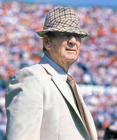 Paul 'Bear' Bryant announces his retirement as head football coach at Alabama. In 25 years Bear recorded a 232-46-9 record with 6 national championships.