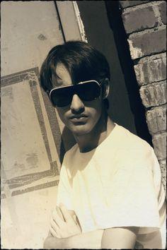 I wear my sunglasses at nite