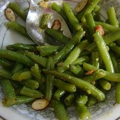Lemon Pepper Green Beans With Fresh Green Beans, Butter, Sliced Almonds, Lemon Pepper Side Dish Recipes, Vegetable Recipes, Cooking Recipes, Healthy Recipes, Yummy Recipes, Green Bean Recipes, Vegetable Side Dishes, Fruits And Veggies, Butter