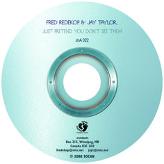 """CD label for """"Just Pretend You Don't See Them"""" Cd Labels, Just Pretend, My Works, Over The Years, Artwork, Work Of Art, Auguste Rodin Artwork, Artworks, Illustrators"""
