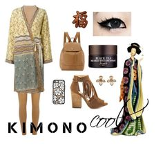 """Kimono Cool"" by chantelleporter on Polyvore featuring River Island, Etro, Fresh, Prada, Just Cavalli, Chinese Laundry, Casetify and kimonos"