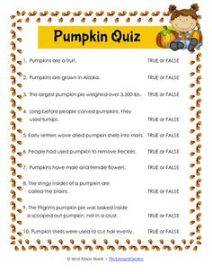 pumpkin trivia quiz - Halloween Trivia With Answers
