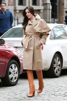 The Evolution of the Trench Coat  - ELLE.com