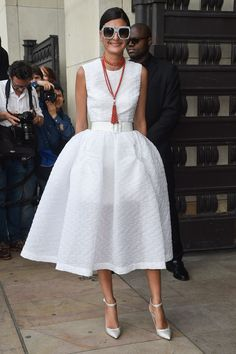 The couture fashion week best-dressed list: Giovanna Engelbert