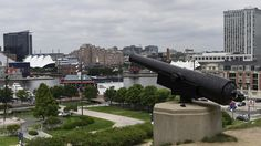 Now: Federal Hill cannons
