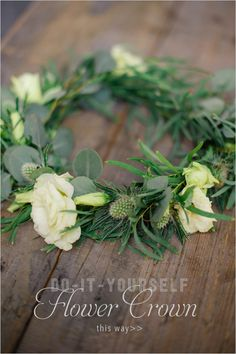 DIY Project: How to make your own flower crown