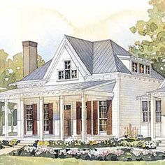 This has a great floor plan, love the guest cottage and storage.  Retirement home?