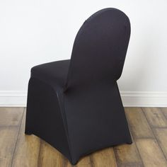 Black Stretch Spandex Banquet Chair Cover With Foot Pockets Folding Chair Covers, Banquet Chair Covers, Dining Chair Covers, Black Chair Covers, Furniture Covers, Chair Sashes, Chair Backs, Burlap Chair, Party Chairs
