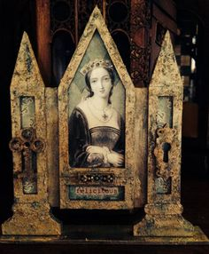 Baroque Reliquary Created by Michelle Talley