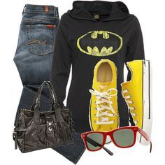 """I'm batman""   (said in my best Sheldon voice)- you ould be the coolest soccer mom in this...yhea I would wear it. ;-)"
