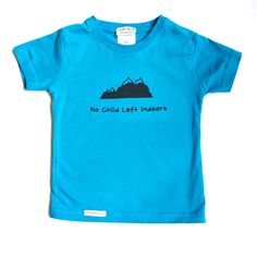 No Child Left Indoors Toddler 2T 4T or 6T Organic by GrowingUpWild, $22.00