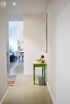 hallway interior, eco living, build me, building nz