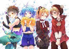 Ensemble Stars, Doujinshi, Chibi, Idol, Kawaii, Fan Art, Drawings, Boys, Illustration
