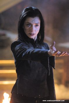 """""""BtVS"""": Alyson Hannigan as Dark Willow after her lover's murder."""