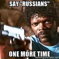 """Pulp Fiction - Say """"Russians"""" One more time"""