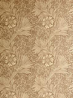 William Morris gold wallpaper