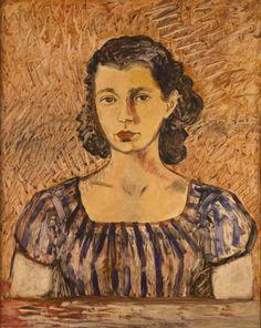 Retrato de  de Arija Muray (inconcluso), Museo de Frida Kahlo