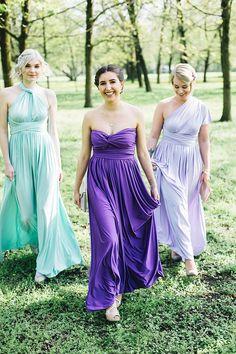 Stylingideen und Kleider  für Brautjungfern & Trauzeugin | Hochzeitsblog The Little Wedding Corner