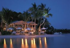 LIttle Palm Island Resort in the Florida Keys is all about Romance.  Bring your honey, disconnect from the world and enjoy the seclusion.