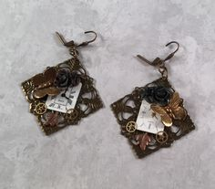 A personal favorite from my Etsy shop https://www.etsy.com/listing/260525855/spring-time-steampunk-earrings-watch