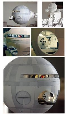 2001's Space Odyssey Discovery Scale Model
