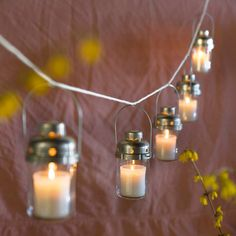 Candle Lantern, Small in New Trending Summer House at Terrain_$10 each