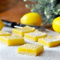 Lemon Pie Bars, photo by KGora