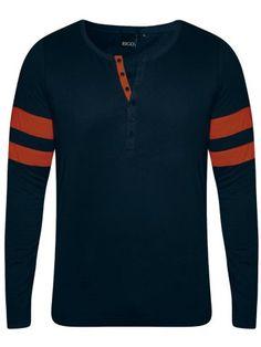 9a33058ee04 Rigo Navy Full Sleeves T-Shirt. Full Sleeves