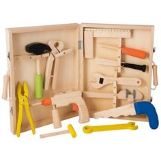Buy Little Carpenter's Toolset from Mulberry Bush, an online toyshop for traditional and wooden children's toys, gifts and games