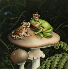 Frog forest mythology - Google Search