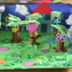 Enchanted forest craft for preschoolers