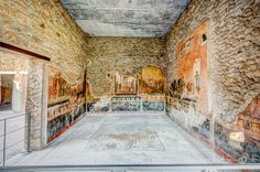 Pompeii Frescos, Italy