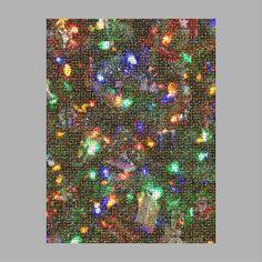 Christmas Tree Ornament Photo Mosaic