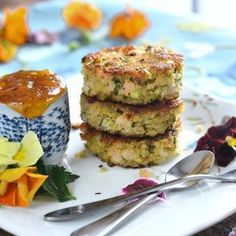 Shrimp Cakes with Spicy Apricot Sauce - Always a favorite at the Bennett Camp and so fun for a starter or light entree! Continuing all things festive today in holiday nibbles and nosh. #karistaskitchen #fromthearchives #holiday #appetizers #shrimp #oregonbayshrimp #food #recipe #foodblog