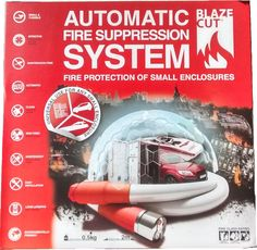 Blazecut Fire Suppression System
