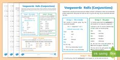 (1) Afrikaans Taal Reëls Voegwoorde Aktiwiteit Afrikaans/English - voegwoorde Apple Wallpaper Iphone, Afrikaans, Videos Funny, Curriculum, Thing 1, English, Learning, Dahlia, Tik Tok