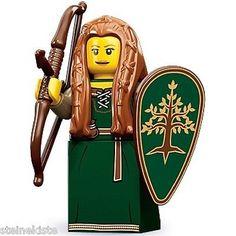 LEGO-Serie-9 - NR 15 Waldläuferin - Forest Maid