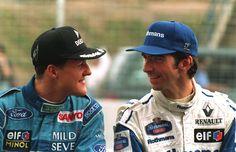 Michael Schumacher & Damon Hill (1994)
