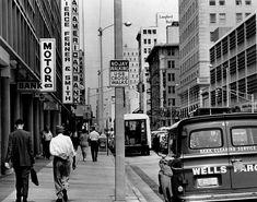Downtown Miami, Photo Archive, Florida, Street View, Building, Memories, Photos, Memoirs, Souvenirs